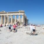 Derrière le Parthénon