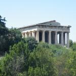 Le temple d'Héphaïstos