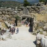 La porte de Mycènes