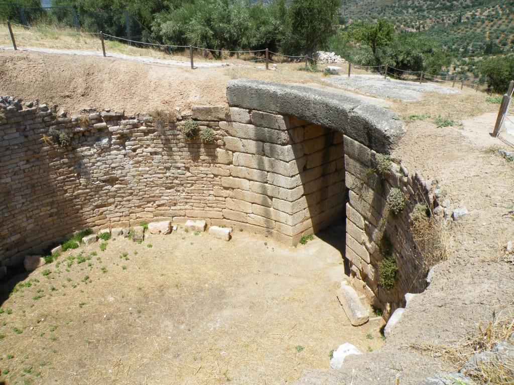 La tombeau de Clytemnestre