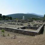 Le sanctuaire d'Asklipios à Epidaure