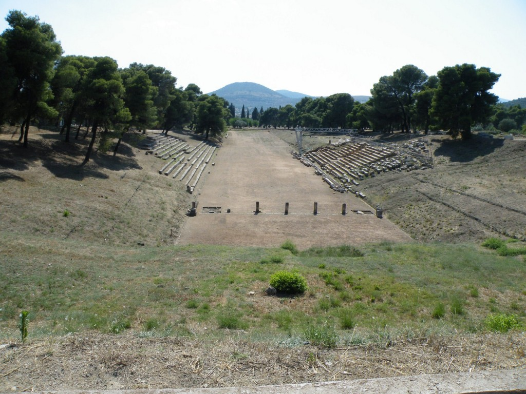 Le stade d'Epidaure