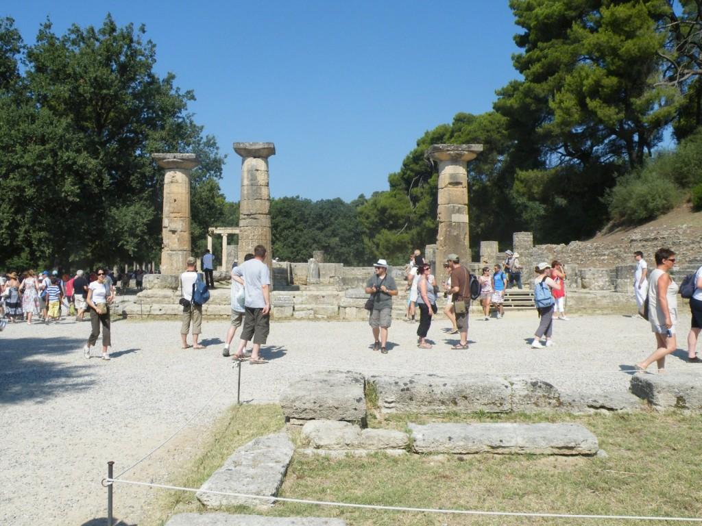 Le temple d'Héra