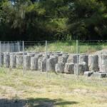 Réserve des colonnes du site