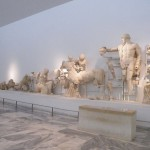 Fronton ouest du temple de Zeus