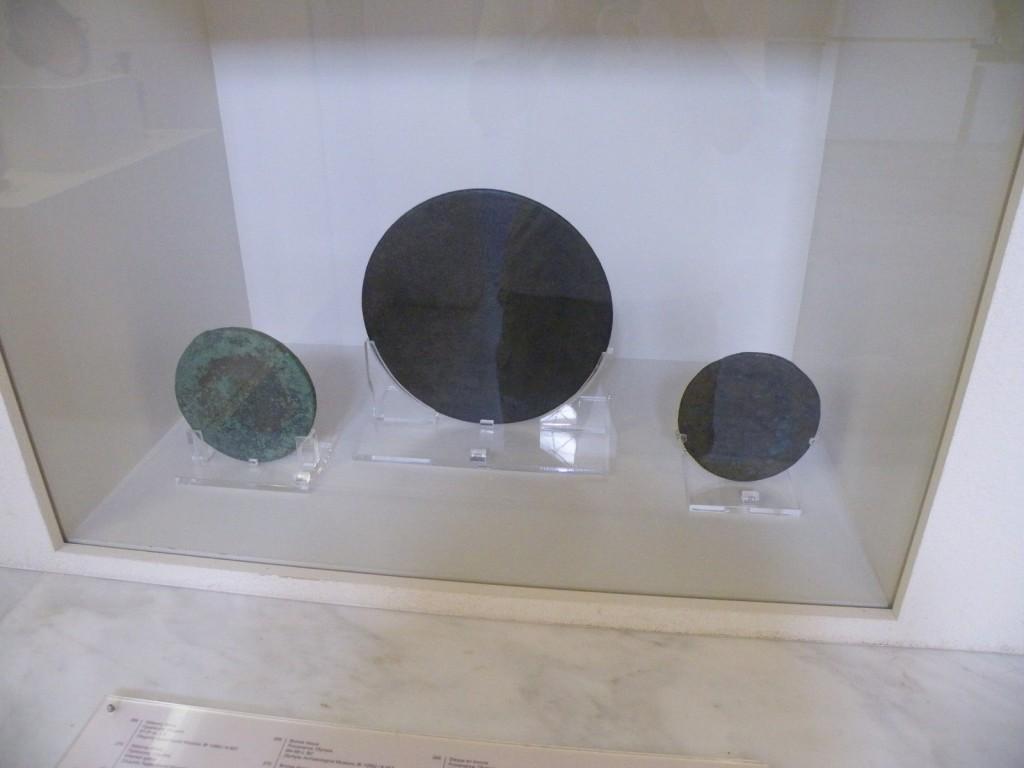 Disques utilisés lors des premiers JO
