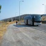 Delphine et notre bus