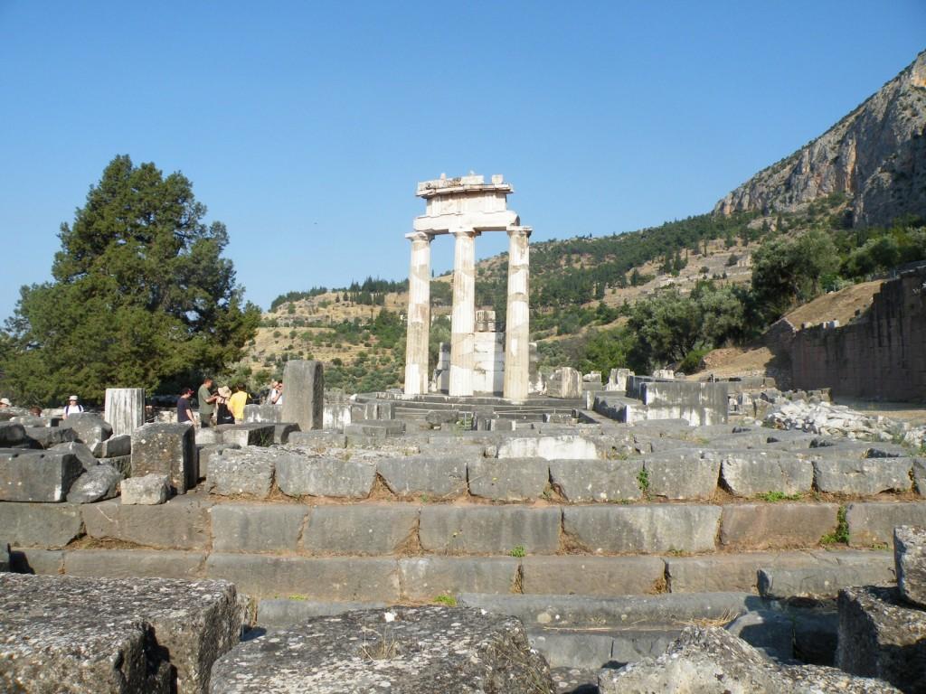 le Sanctuaire d'Athéna Pronaia