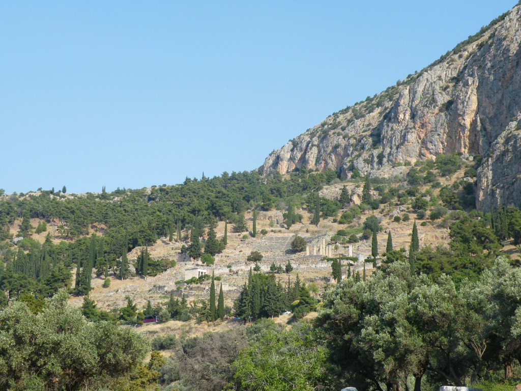 Le site de Delphes