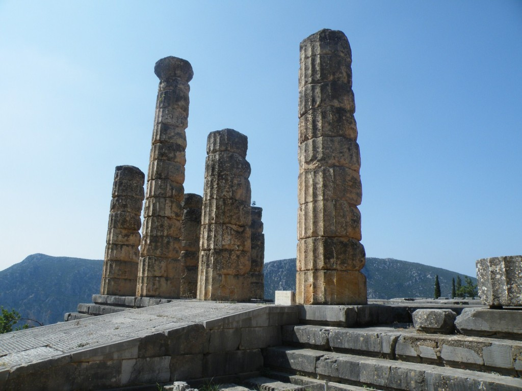Le temple d'Apollon