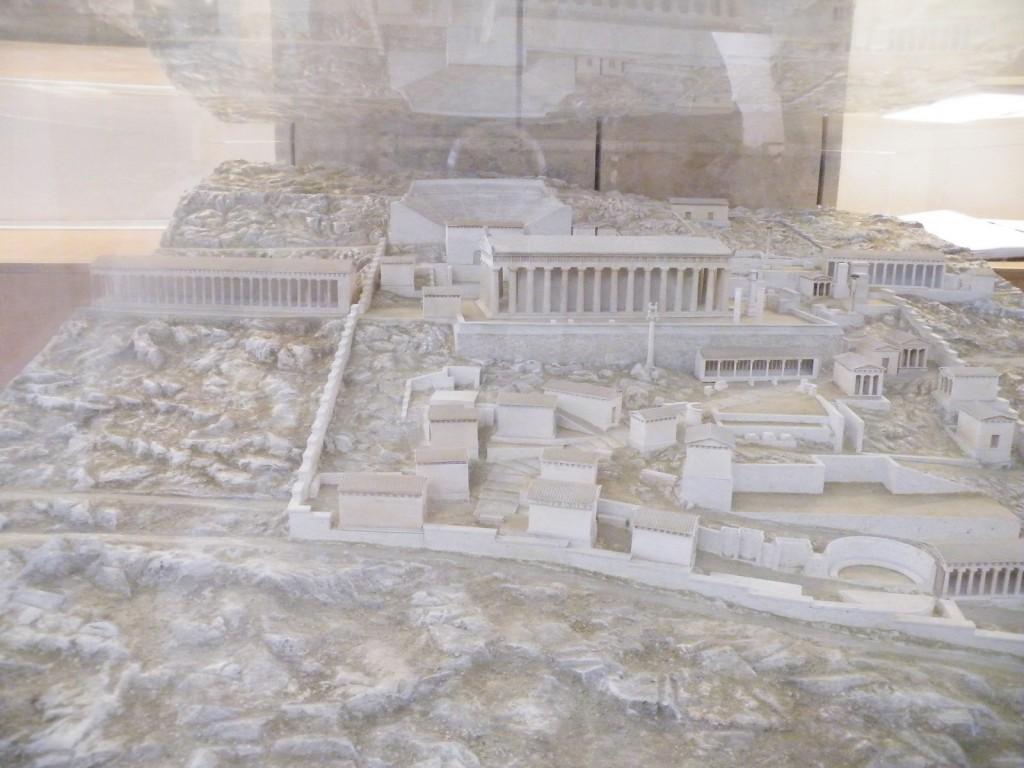 Maquette de Delphes