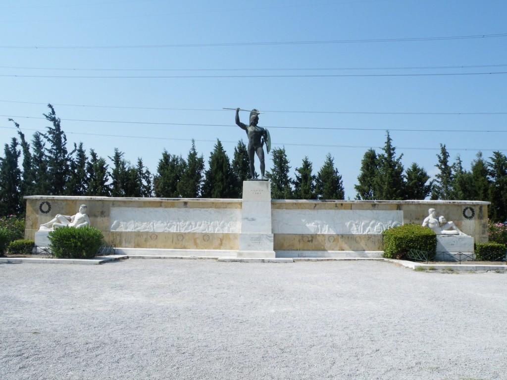 Léonidas (roi de Sparte) lors de la bataille des thermopyles
