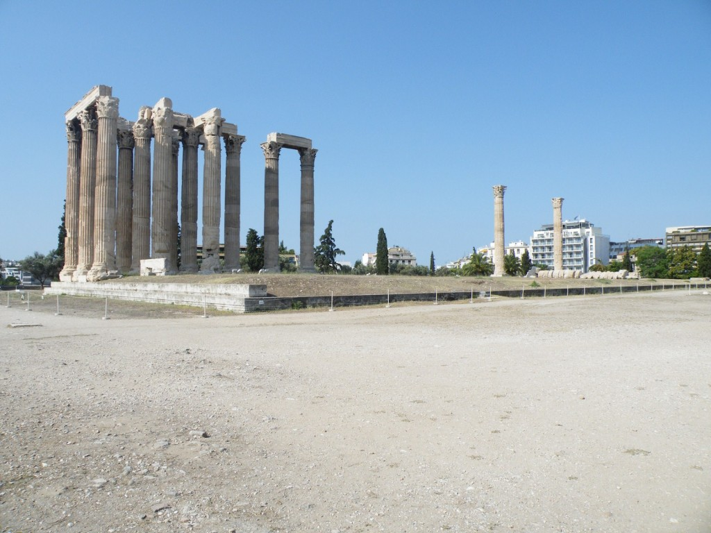 L'Olympéion,  temple de Zeus