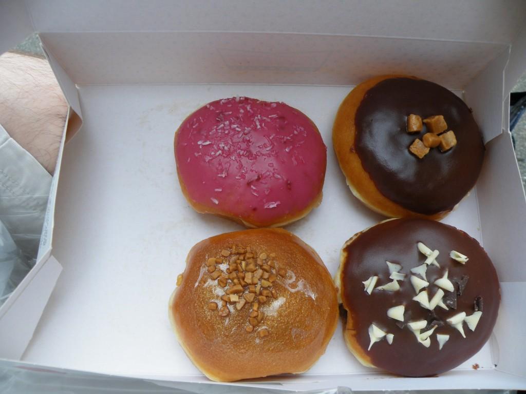 Des Donuts de chez krispy kreme