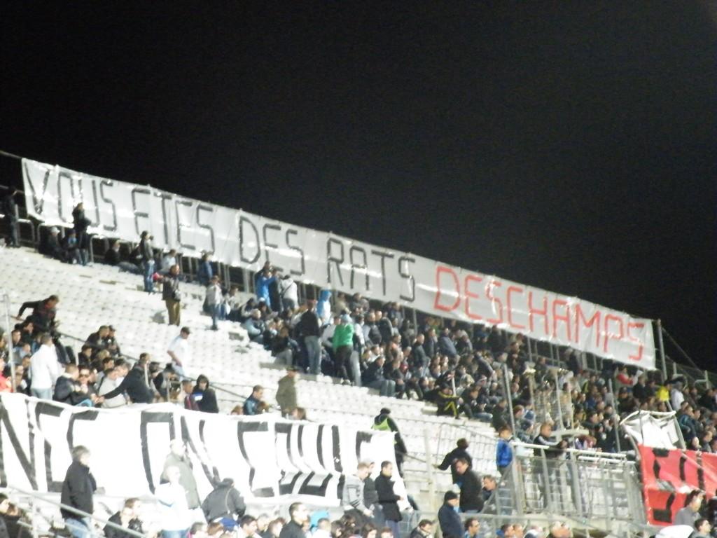La grève des supporters