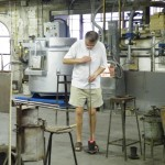 Souffleur de verre de Biot