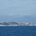la mer et les Alpes