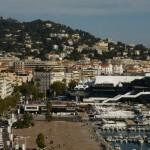 Cannes et le palais des festivals
