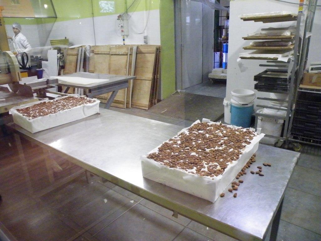 Fabrication du nougat
