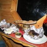 Les cabanes de Lalouvesc, le Panier repas