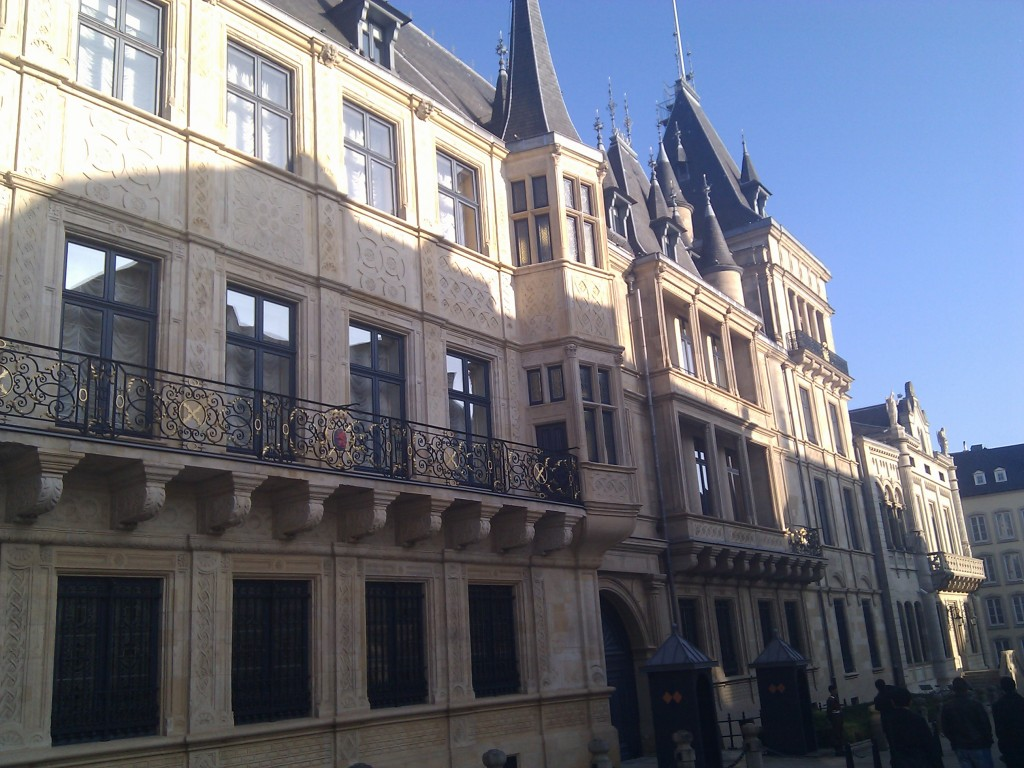 Palais grand-ducal de Luxembourg