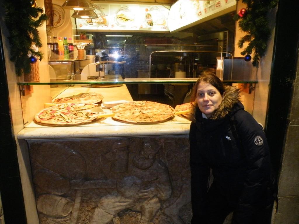Des pizzas géantes