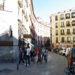une rue de Madrid
