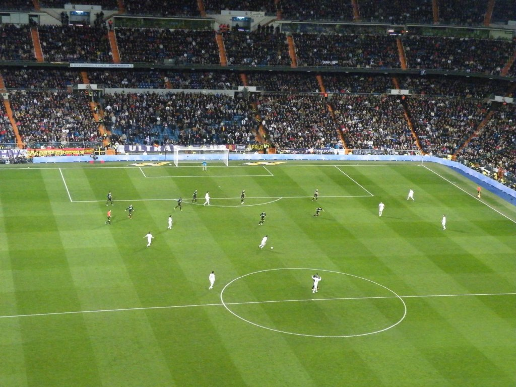 Match Real de Madrid / Racing club de Santander