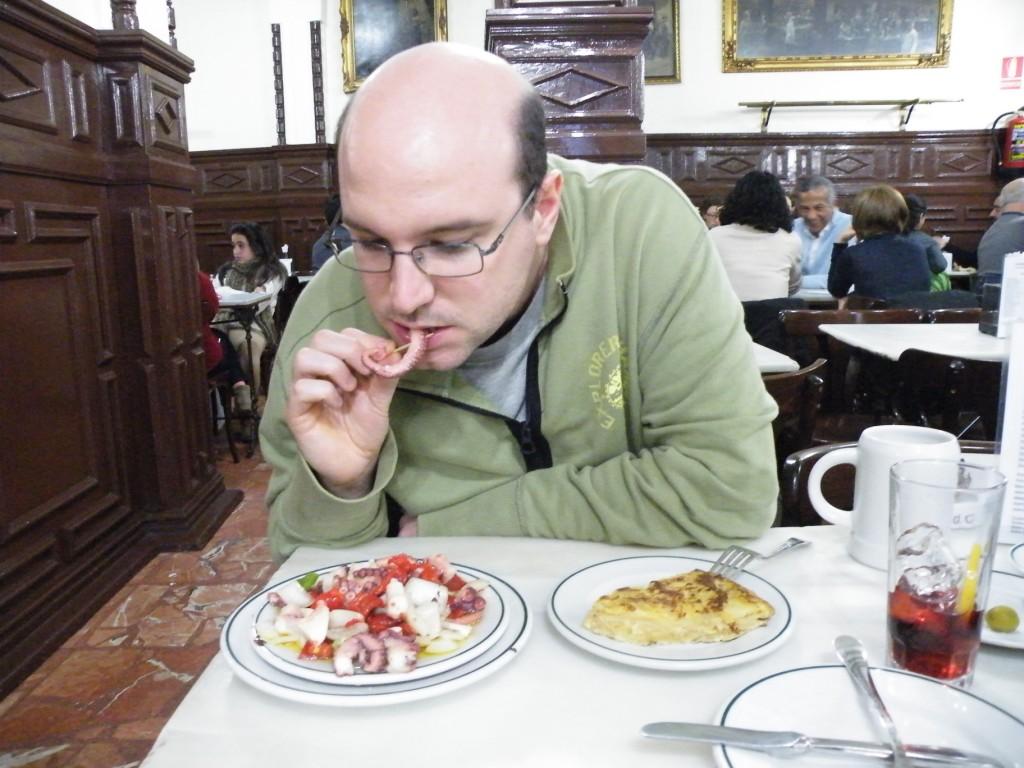 Tapas: octopus et tortilla