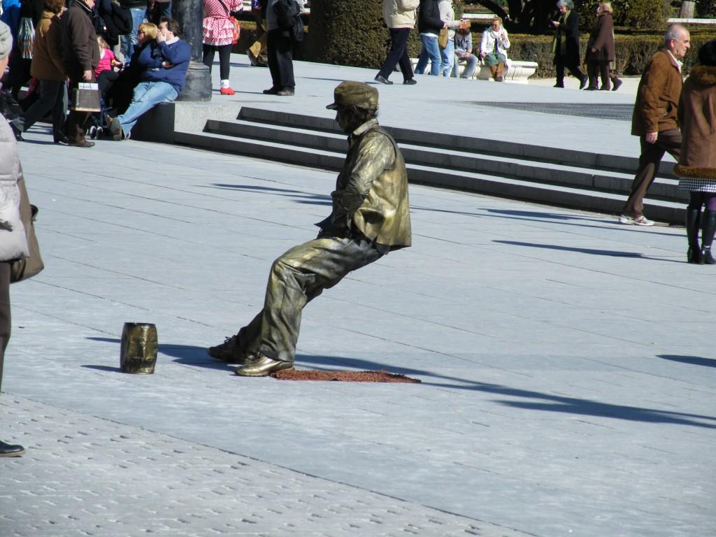 Une statue???!!