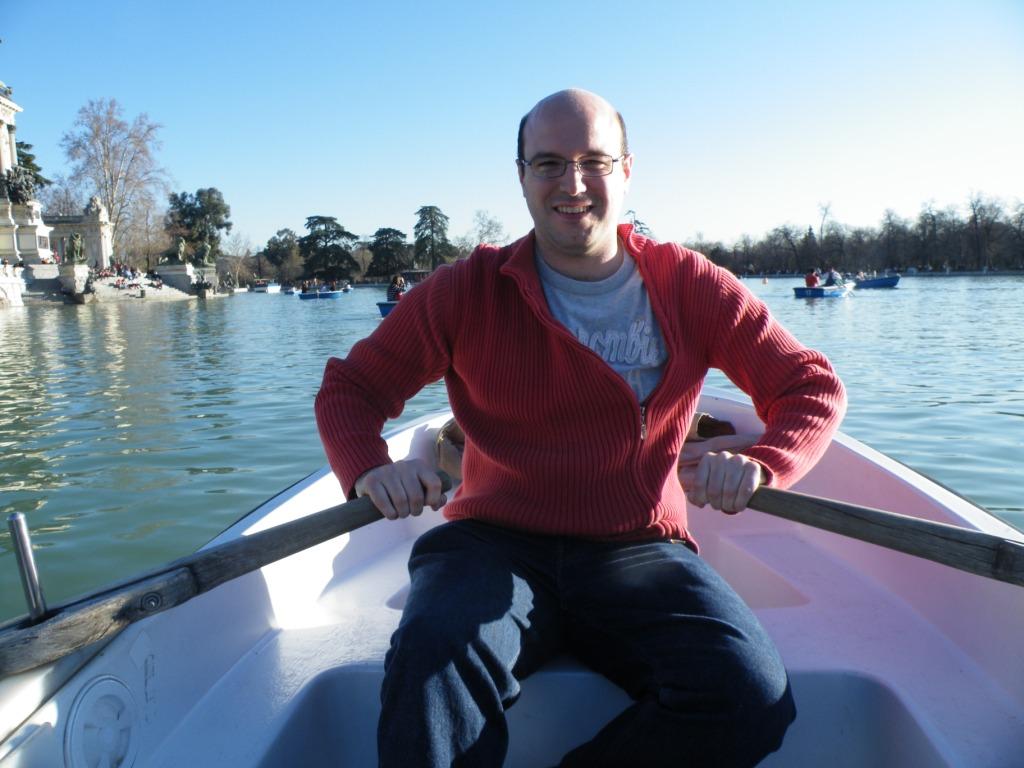 Parc retiro: un petit tour en barque