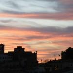 Nuit tombant sur Tolède