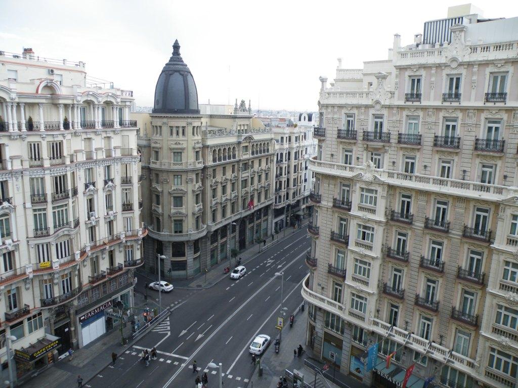 vue de notre hotel